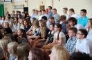 Rozpoczęcie roku szkolnego 2015/2016 w Gimnazjum